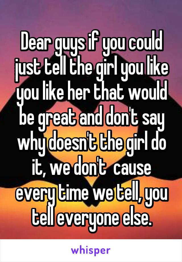 What To Say To A Girl If You Like Her