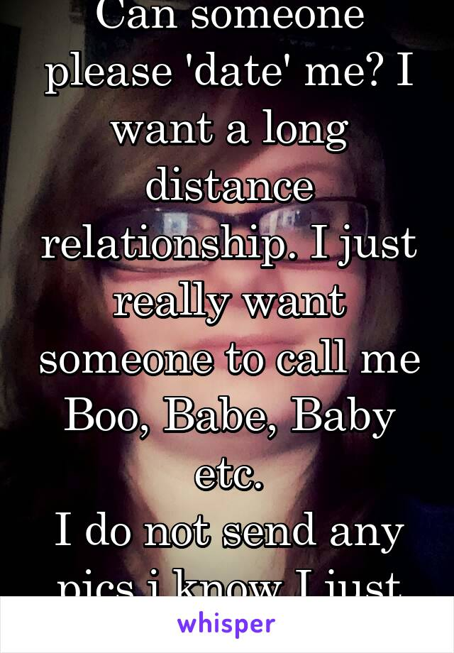 dating someone long distance relationship