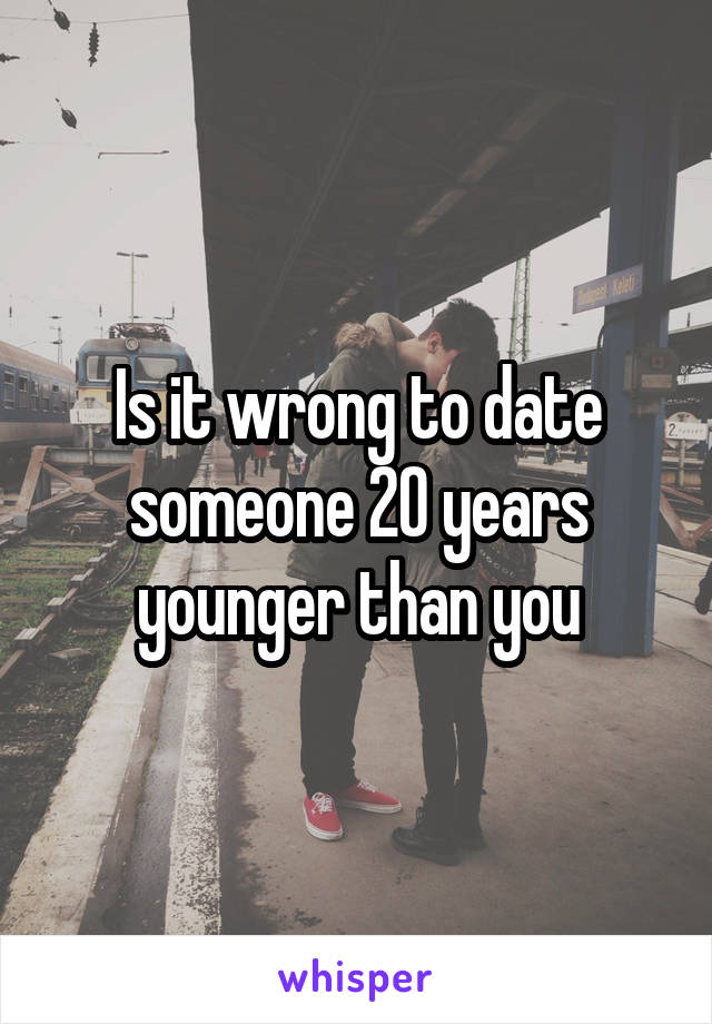 Dating someone five years younger than you