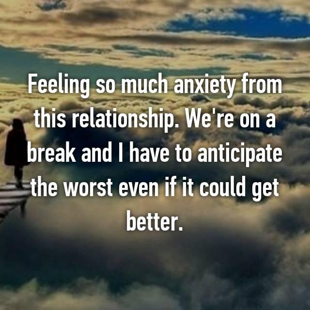 A In Break Taking Good Idea A A Relationship Is