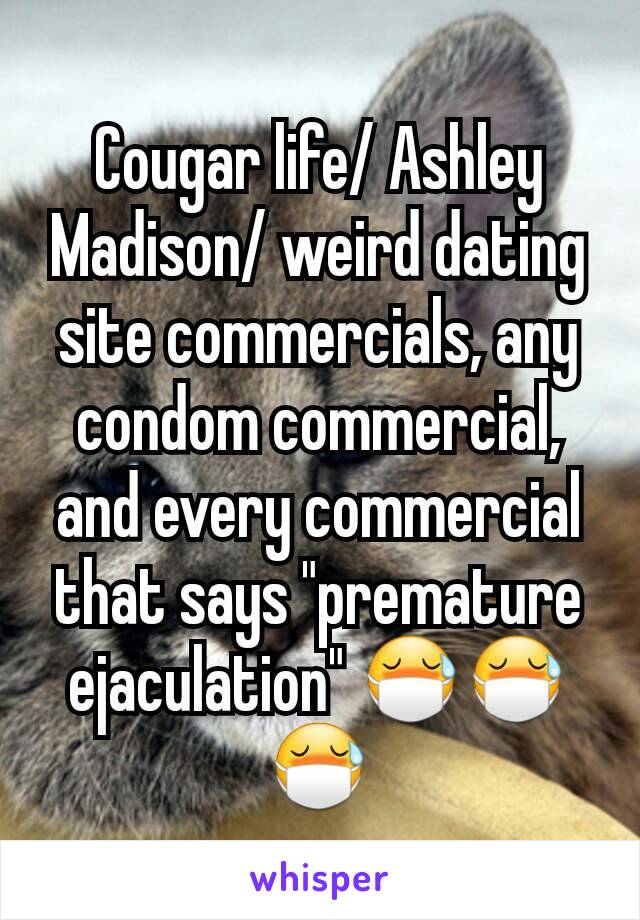 cougar dating site commercial