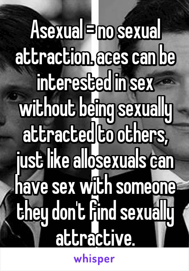 attraction to others