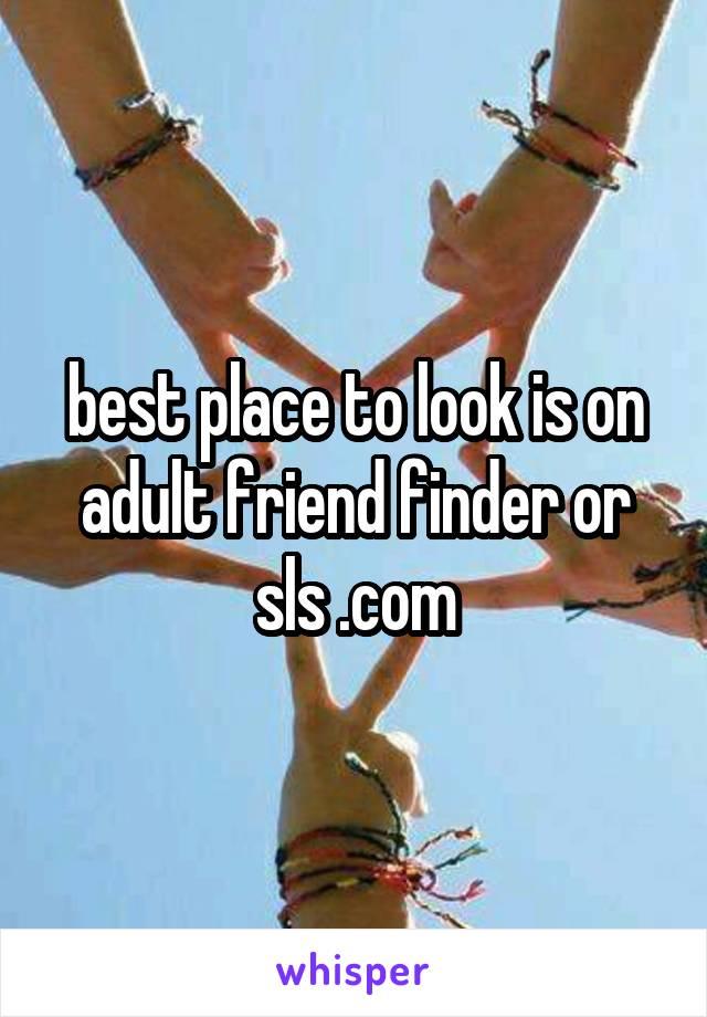 Best adult friend finder