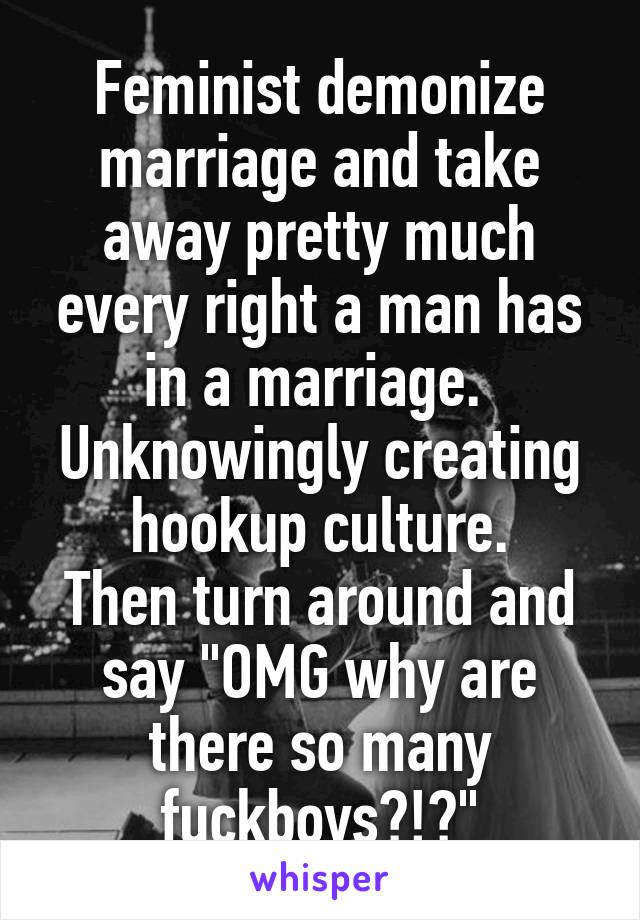 feminism hookup culture