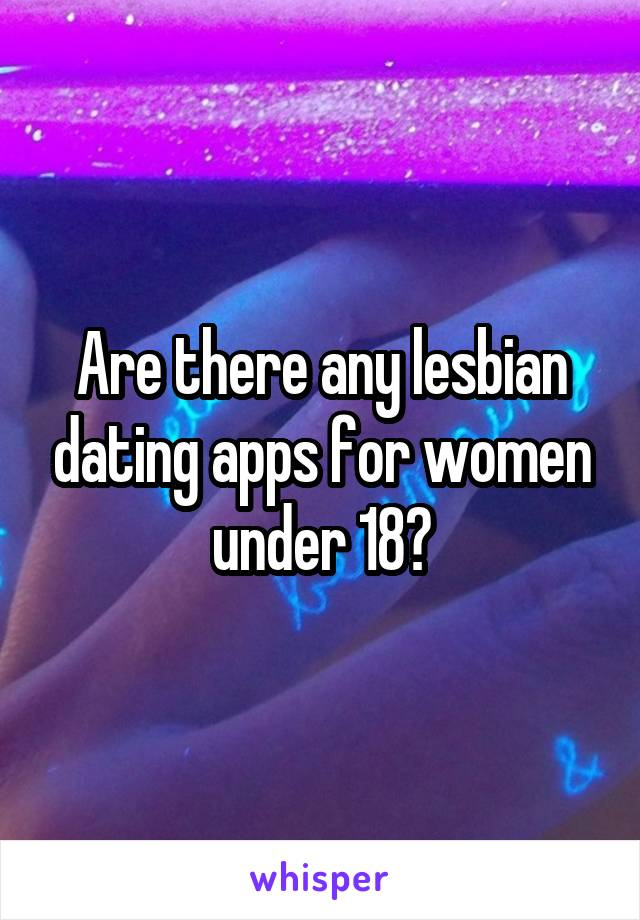 Dating apps for 18