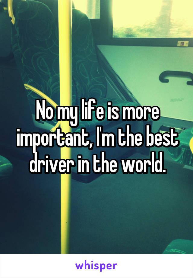 My best driver