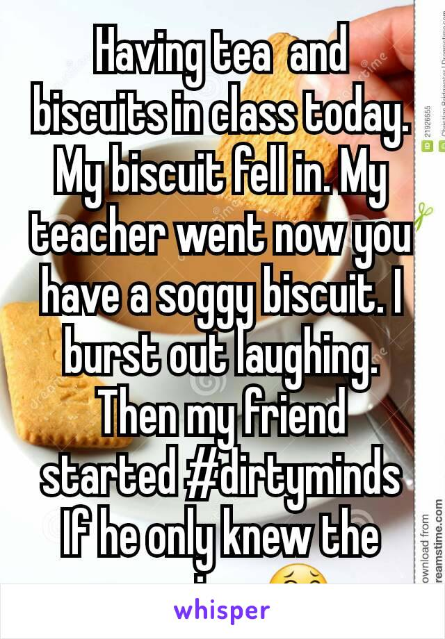 Soggy Biscuit Meaning