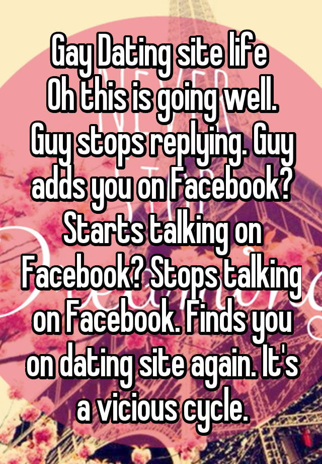 the vicious cycle of dating