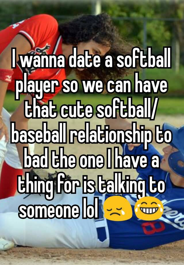 baseball players dating softball players