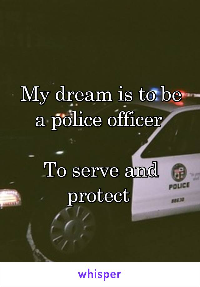 'Why I quit my dream job as a police detective'