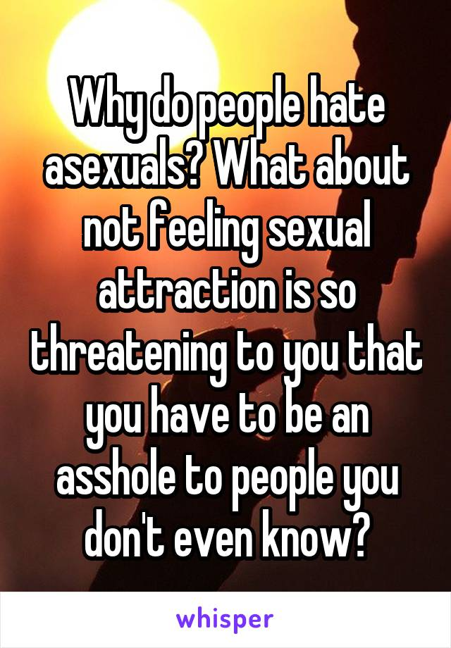 Sexually attracted to someone you hate