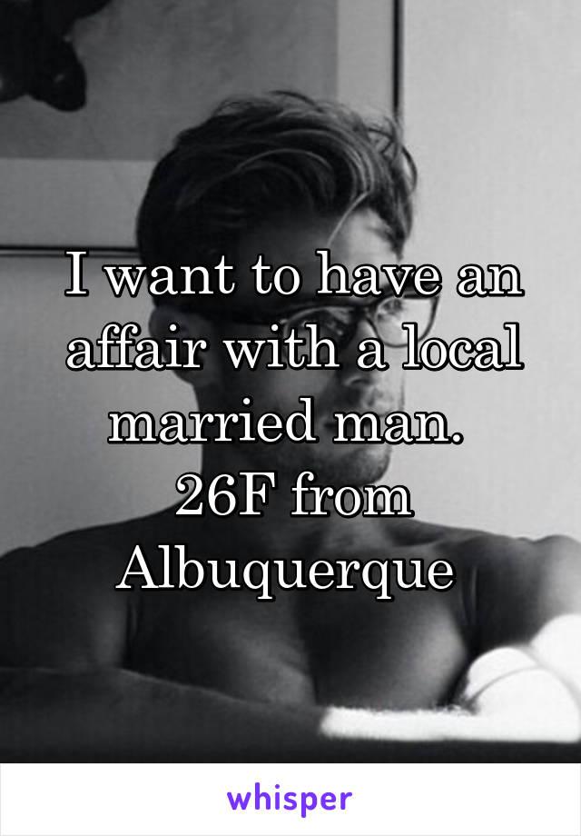 Local married affair