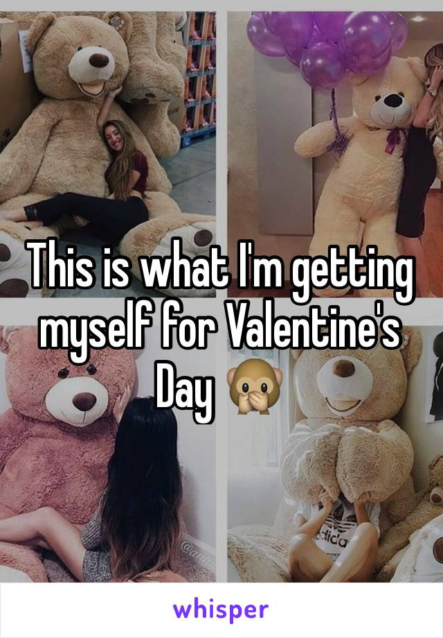 This is what I'm getting myself for Valentine's Day 🙊