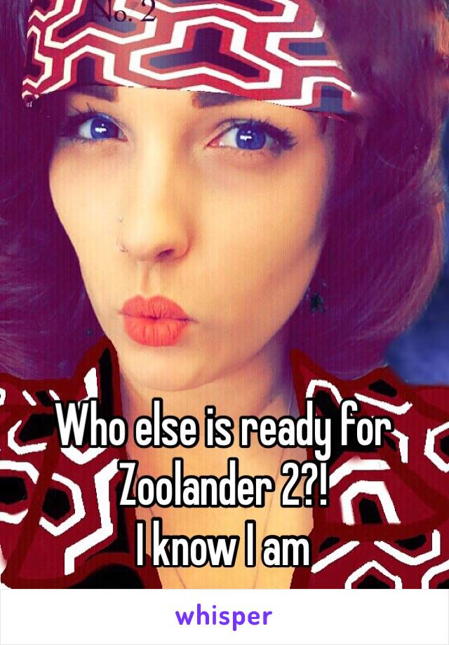 Who else is ready for Zoolander 2?! I know I am