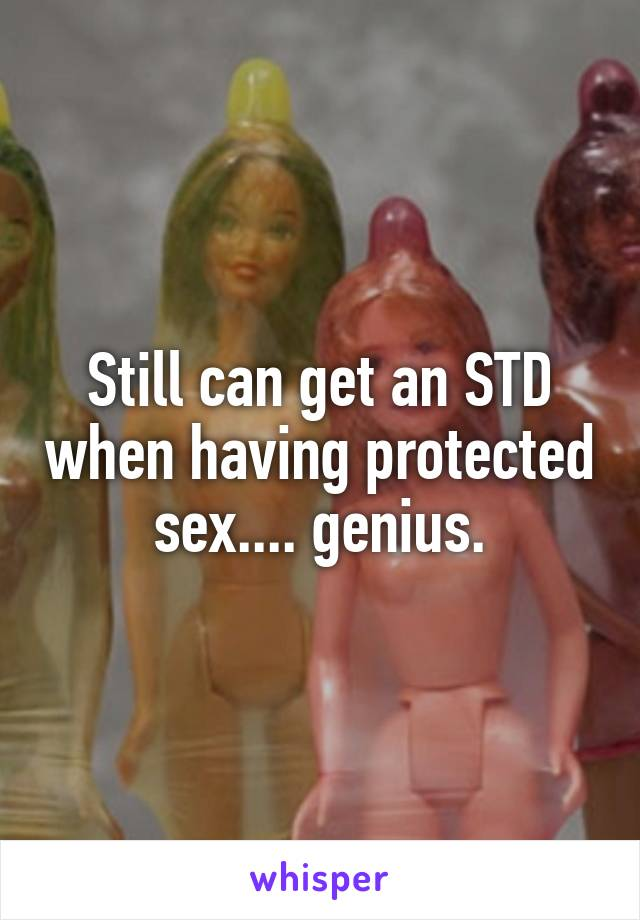 Having protected sex