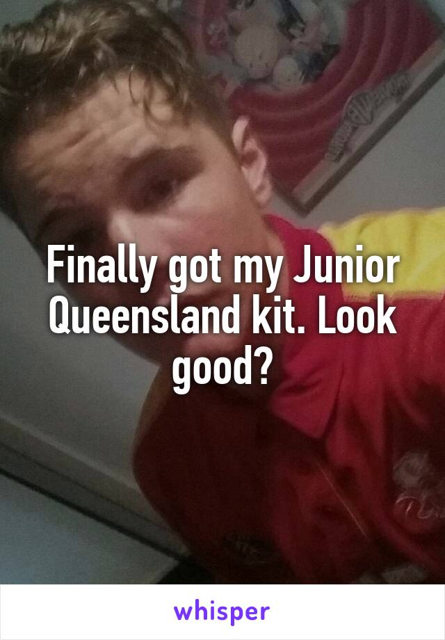 Finally got my Junior Queensland kit. Look good?