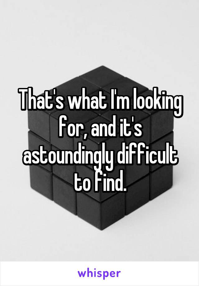 That's what I'm looking for, and it's astoundingly difficult to find.