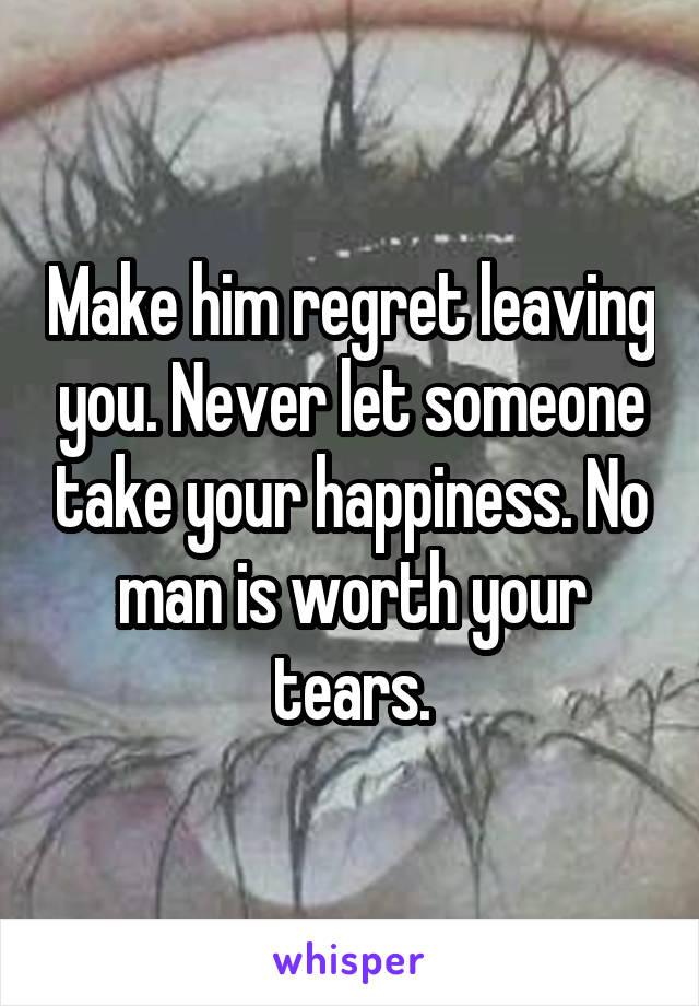 Regret leaving my husband