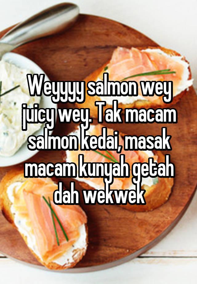resepi ikan salmon salai resipi ikan salmon  mamacu pantang oleh athirah sofiah cookpad Resepi Ikan Salmon Dalam Pantang Enak dan Mudah