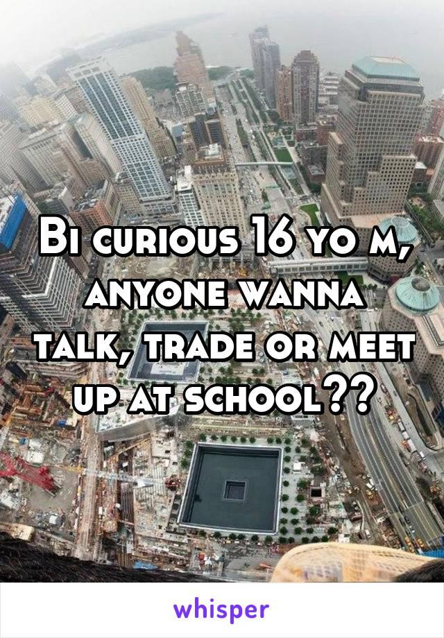 Meet bi curious