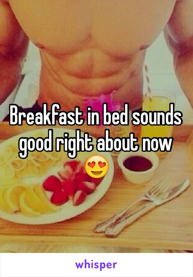 Breakfast in bed sounds good right about now 😍
