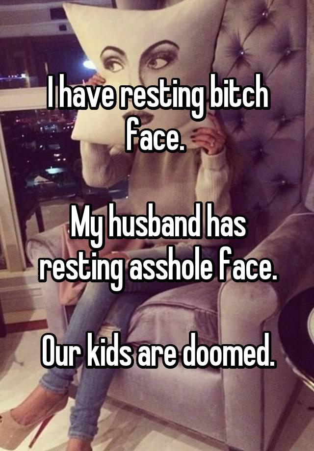 Asshole face net