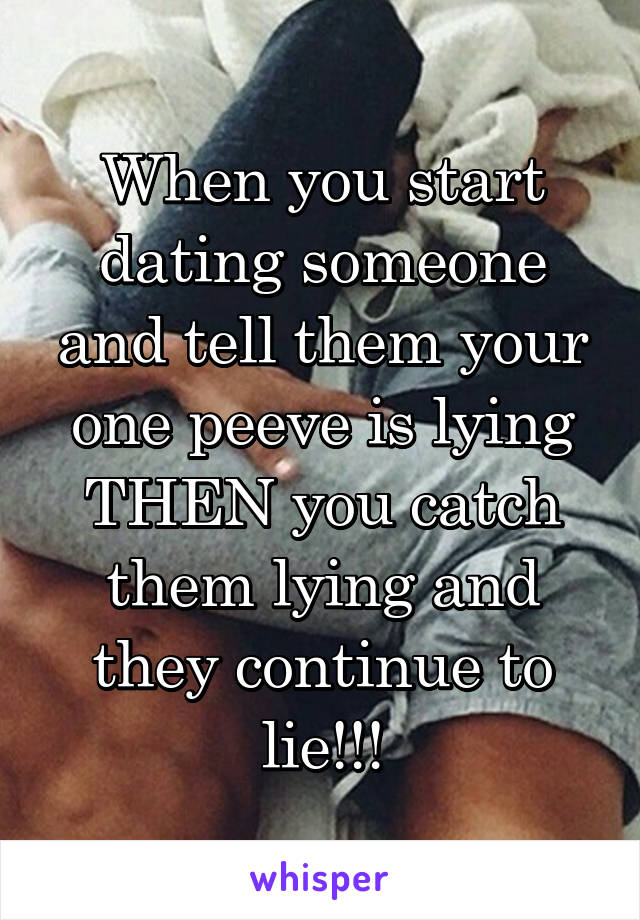 When do you start dating someone