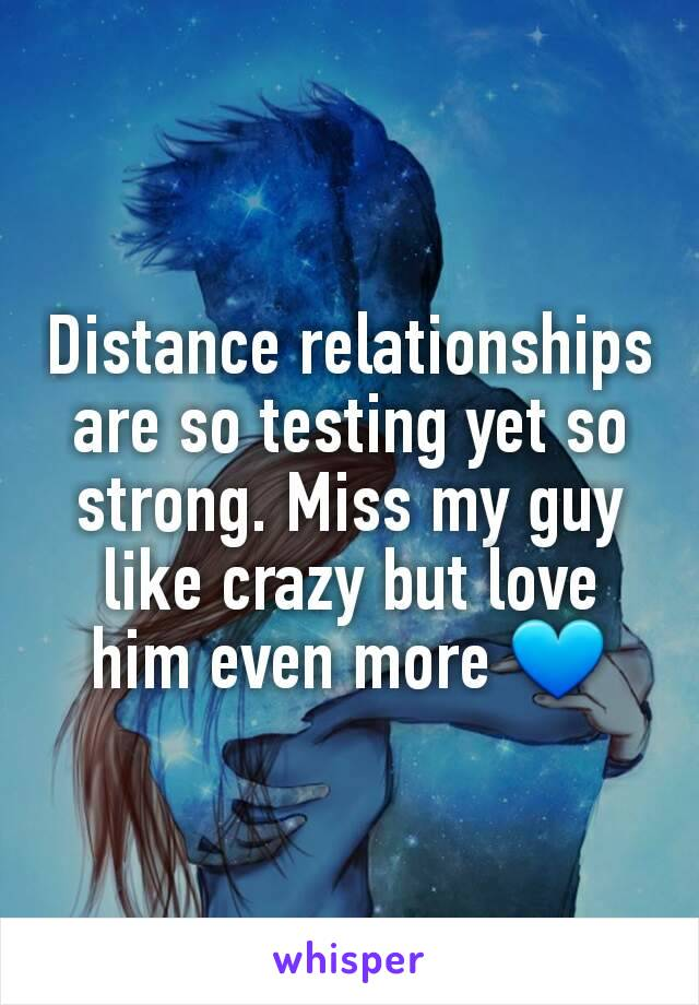 Distance relationships are so testing yet so strong. Miss my guy like crazy but love him even more 💙