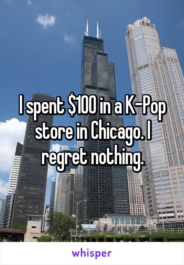 I spent $100 in a K-Pop store in Chicago. I regret nothing.