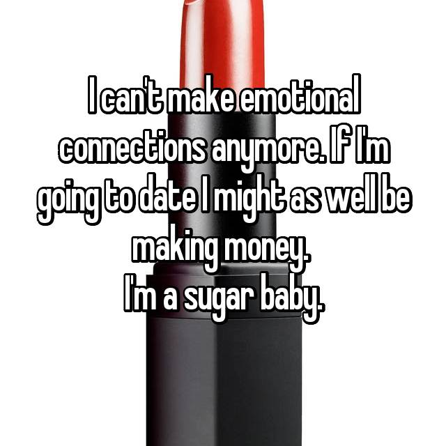 Confessions of a sugarbaby