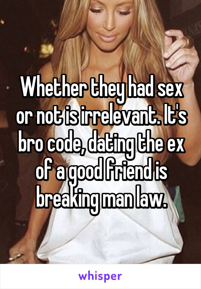 girl code sex and dating