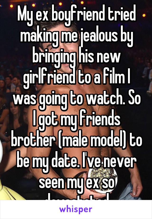 Jealous of ex boyfriend dating