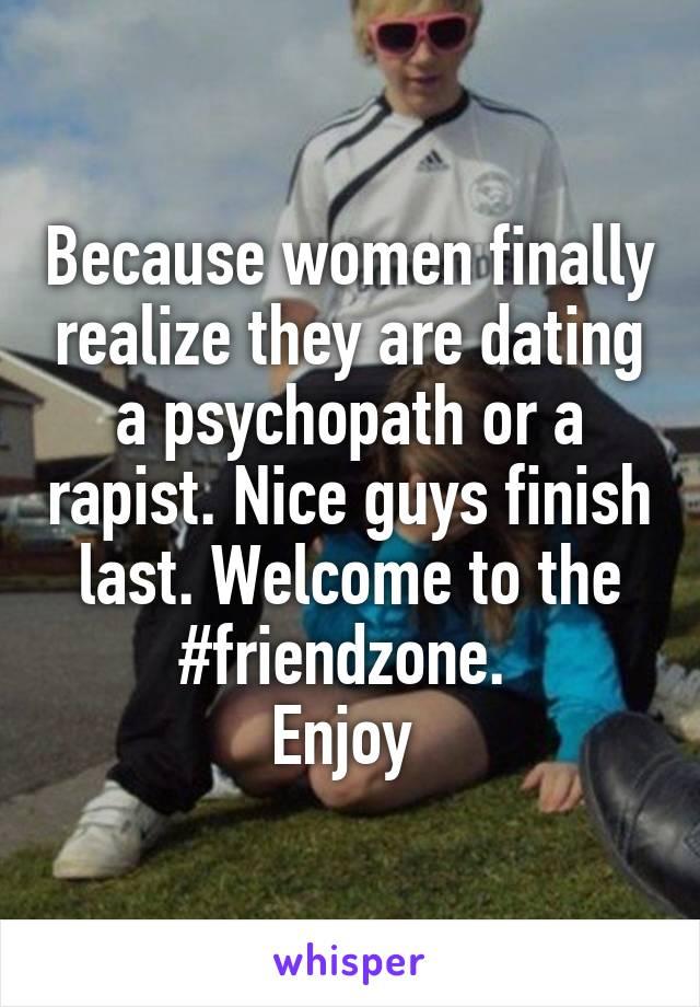 Finally dating a nice guy