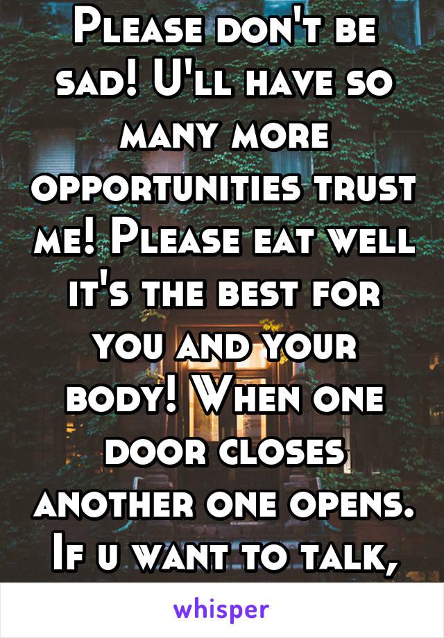 if u please