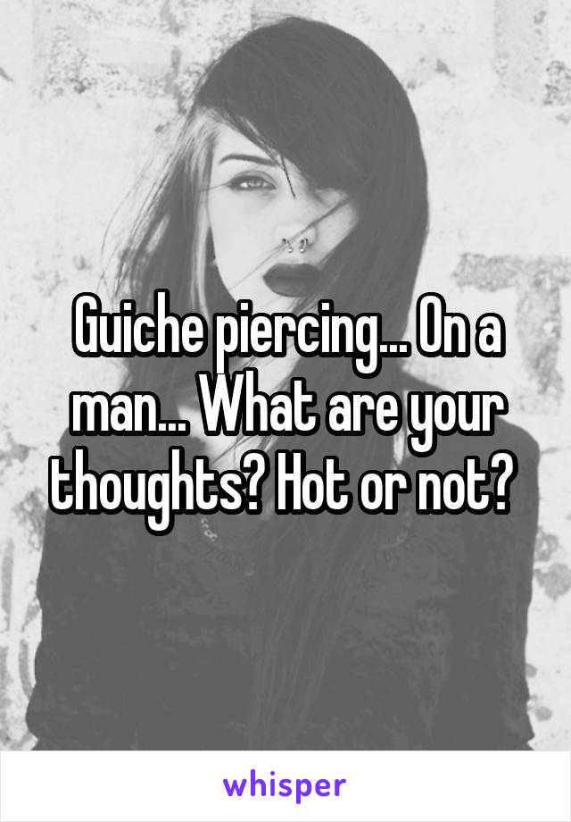 Guiche piercing