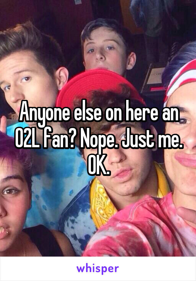 people in o2l