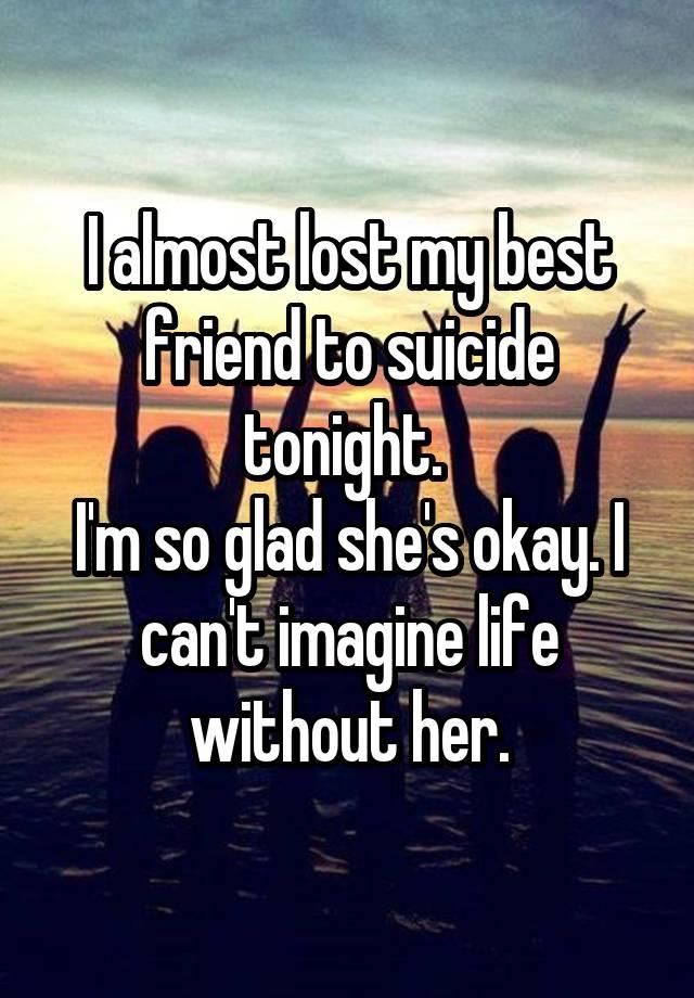 best friend suicide