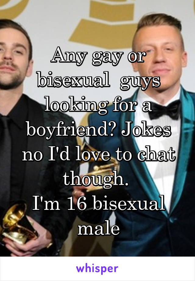 Bisexual chat gay