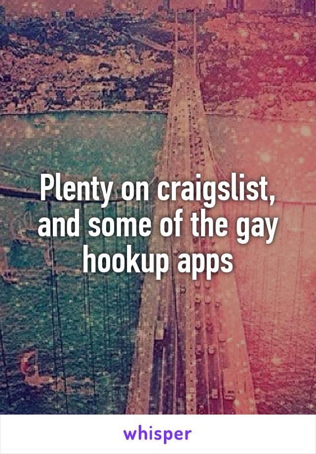 Craiglist gay hookup
