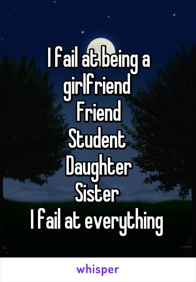 girlfriend fail