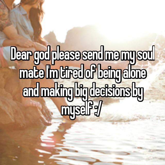 will god send me a mate