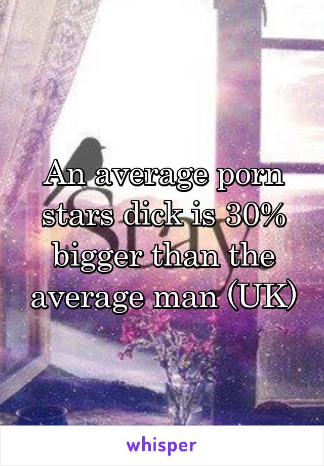 Than dick longer average