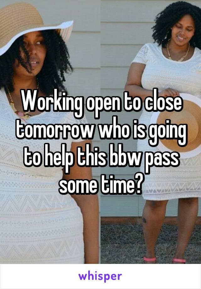 Bbw pass
