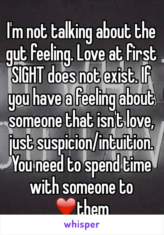 Have about a someone you when feeling gut Spell detection