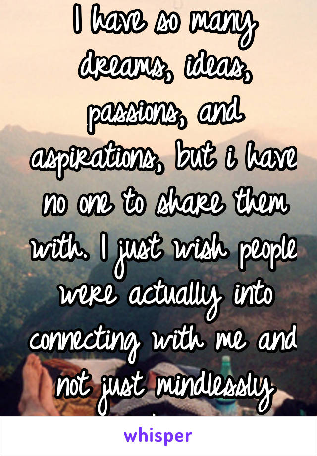 passions people have