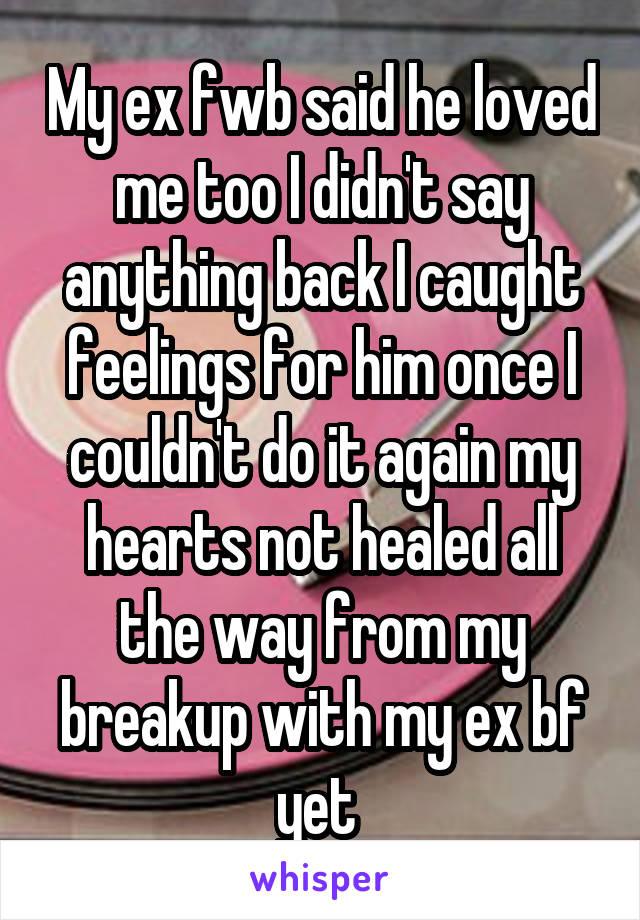 fwb with ex