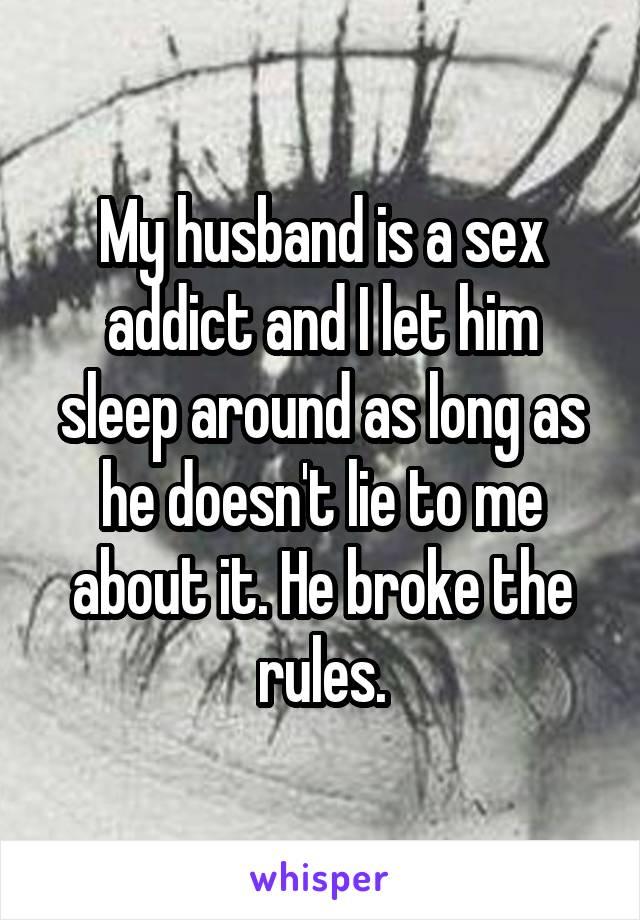 Dating an ex sex addict