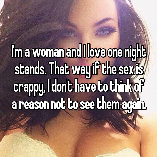 I need a one night stand
