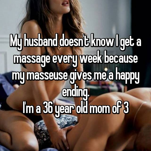Massage confessions