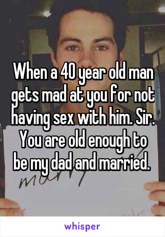 Not old enough for sex